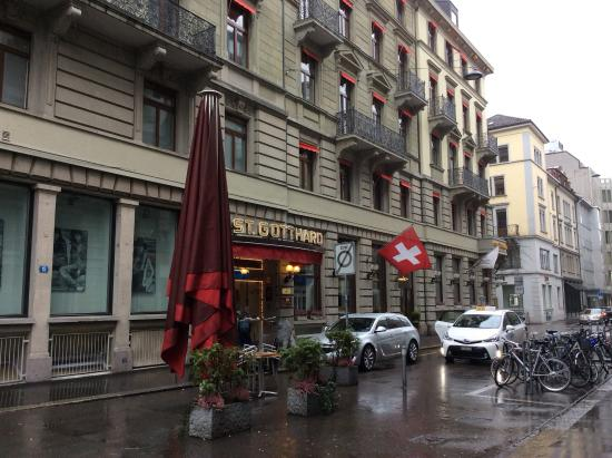 Hotel St. Gotthard: At the hotel