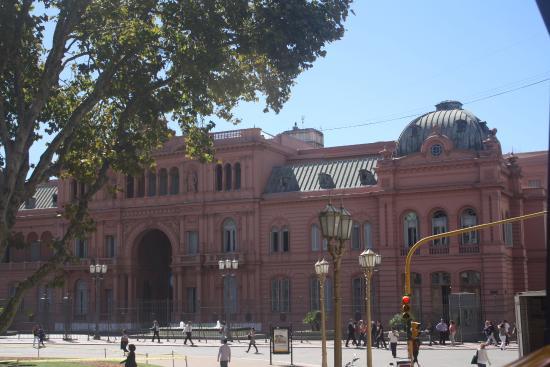 Hotel TRYP BUENOS AIRES: La casa rosada