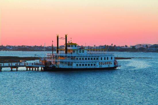 Galveston Island, TX: The Colonel Paddlewheel Boat