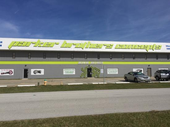 Port Canaveral, FL: We absolutely enjoyed our trip to Parker Brothers Concepts. It was a surprise for my husband on