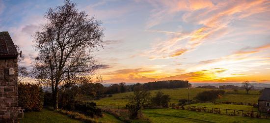 megs lake at dusk picture of beacon hill farm longhorsley rh tripadvisor co uk