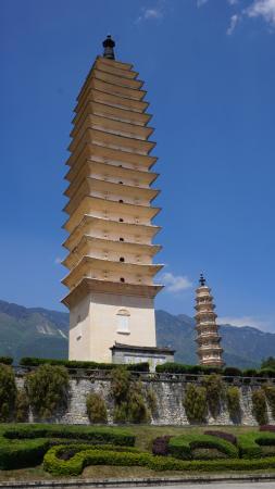Chongsheng Three Pagodas: Rising to the Sky