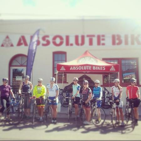 Salida, CO : Absolute Bikes sponsors weekly Ladies Rides throughout the summer, both Road and Mountain.