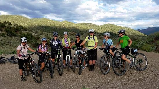Salida, CO : Absolute Bikes sponsors many community events, like this: weekly Ladies MTB Rides