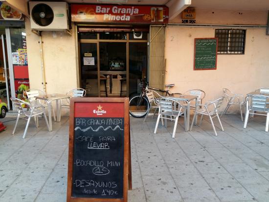 Sant Adria de Besos, Hiszpania: Terraza