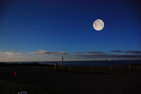 Cap Le Moine, Kanada: Super Moon