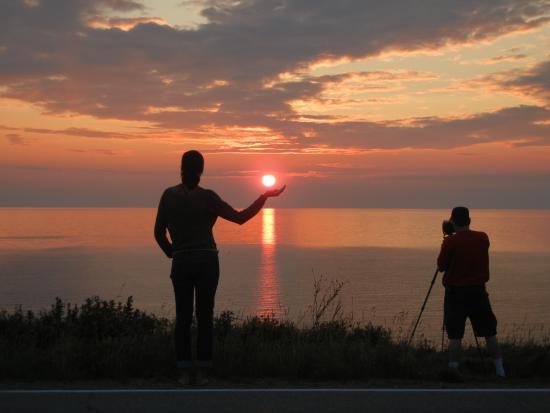 Cap Le Moine, Kanada: Sunset 4