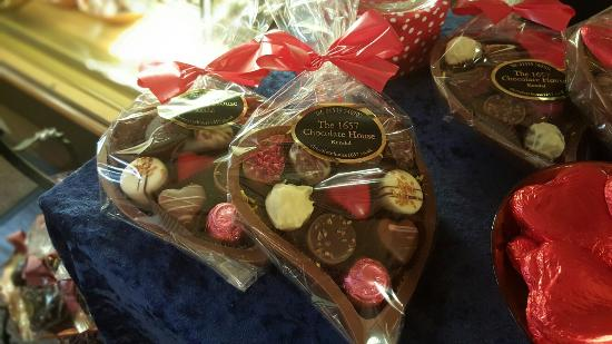 Kendal, UK: Valentines comes to 1657 chocolate house !