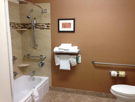 Evergreen, CO: Accessible bath