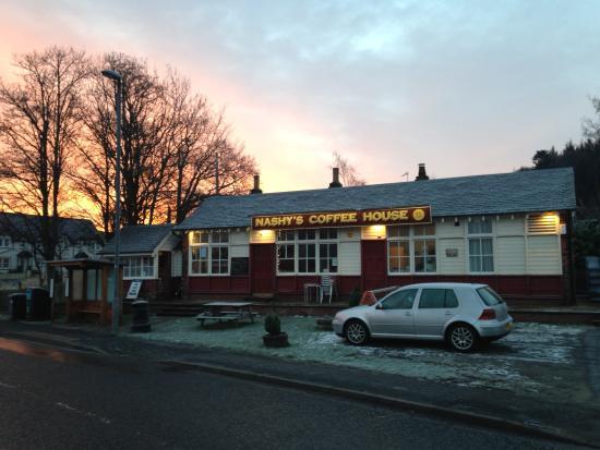 Cardrona, UK: Crisp morning