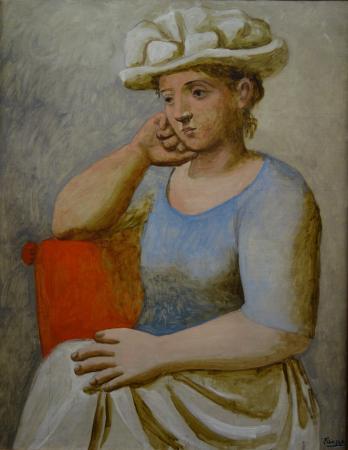 Pablo Picasso: Femme au chapeau blanc - Photo de Musée de l ...