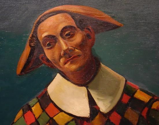 André Derain: Arlequin et Pierrot. Detail - Photo de Musée de l ...