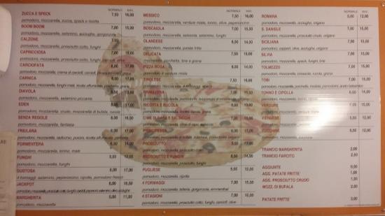 Concorso picture of pizza eden tolmezzo tripadvisor for Pizzeria gina st priest menu
