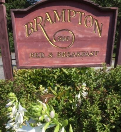 Brampton Bed and Breakfast Inn: entrance