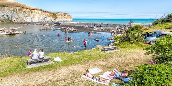 Wanganui, Nueva Zelanda: Kai Wi Beach Whanganui New Zealand
