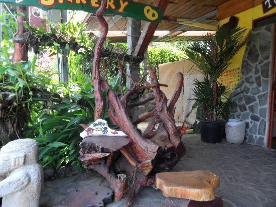 Nuevo Arenal, Costa Rica: Cool chair