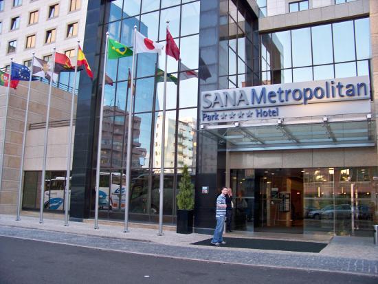 Sana Metropolitan Hotel Entrada Do Lisboa