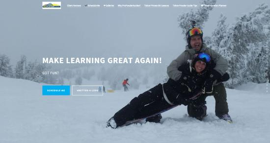 Squaw Valley, Καλιφόρνια: propowderguides.com Discount Tahoe Private Ski Lessons