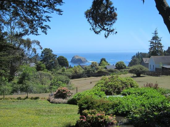 Glendeven Inn Mendocino: View from Bayloft