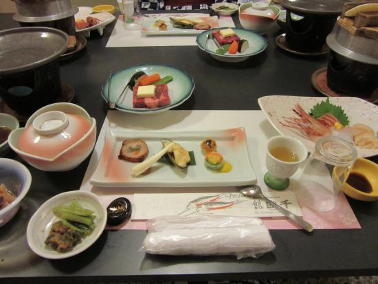 Chikuma, Japon : 千曲館 夕食