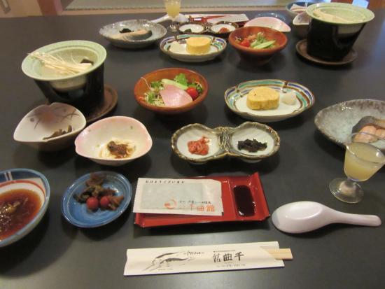 Chikuma, Japon : 千曲館 朝食