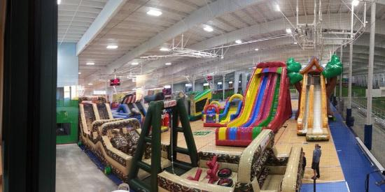 Inflatable Park at Fore Kicks Taunton