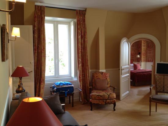 Veigne, Francia: Turret Suite