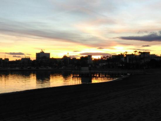 Lo Pagán, Espanha: Excelentísimo servicio y unas vistas maravillosas...