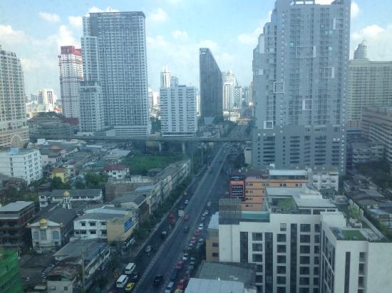 Bangkok City Hotel: Utsikt fra 18 etasje
