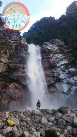 Andes, Colombia: Canyoning