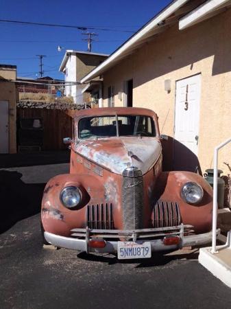 Barstow, Californien: Old car