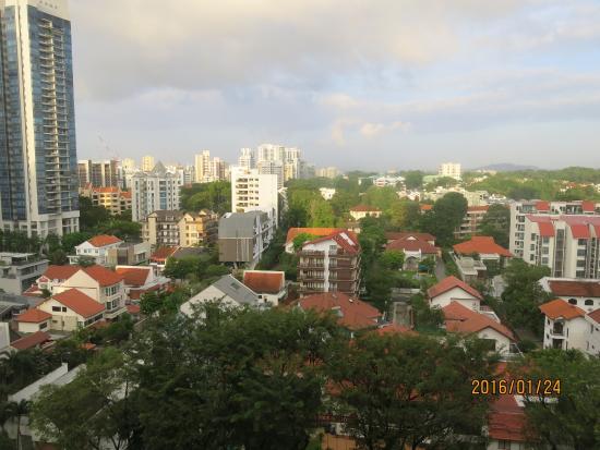 Hotel Royal Singapore: 家庭房戶外景觀