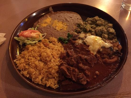 "Post Falls, ID: This dish ""tres compadres"" is amazing!! I've had it twice, and am planning on having it again so"
