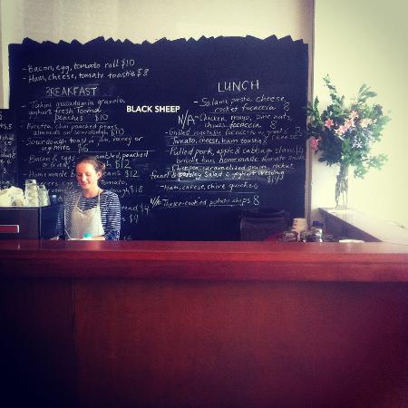 Image result for black sheep cafe corryong