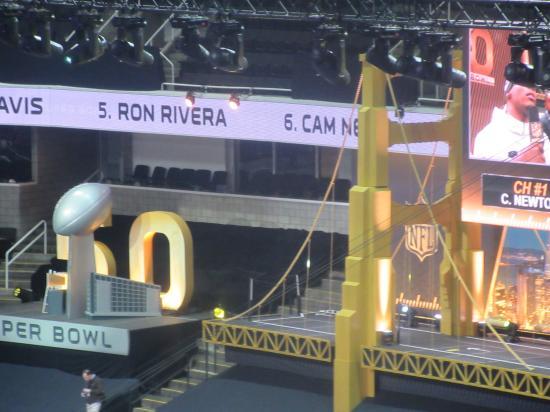 SB50 Opening Night, SAP Center, San Jose, CA - Picture of