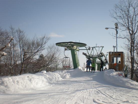 Moiwayama Ski Area: 第3リフト降り場