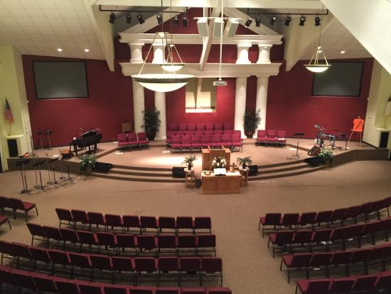 First Baptist of Chalmette sanctuary