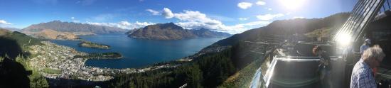 Queenstown, Nya Zeeland: 观景平台全景图