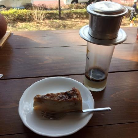 Kunitachi, Japan: バナナケーキ&コーヒー
