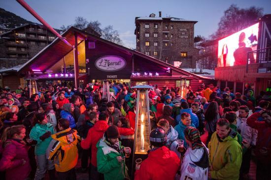 El Tarter, Andorra: començen festa