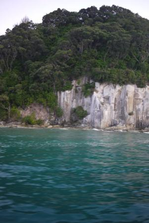 Mangawhai, نيوزيلندا: On the way back into Mangawhai