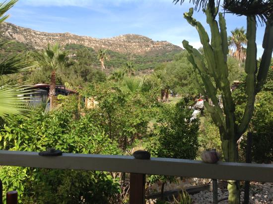 Great Escapes Andalucia: Chalet Tres - view of hills from verandah