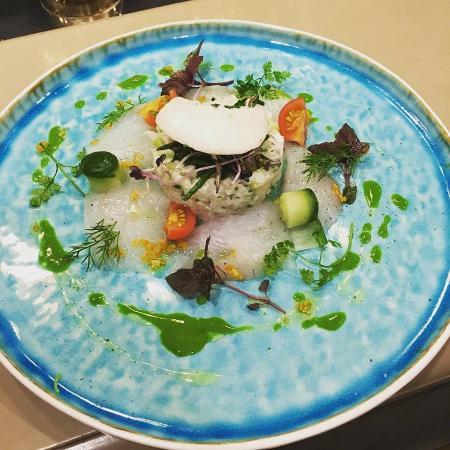 Zelzate, Belçika: Fish dish