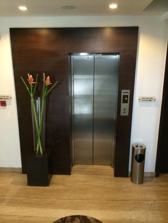 Emblem Hotel New Friends Colony: Lift