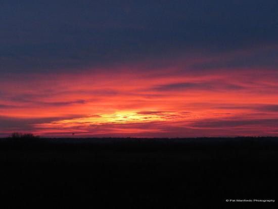 Micanopy, فلوريدا: Sunrise over the Prairie