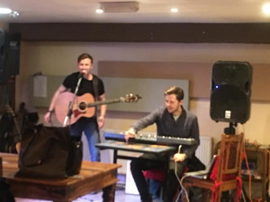 Bromsgrove, UK: Open mic night last Sunday every month