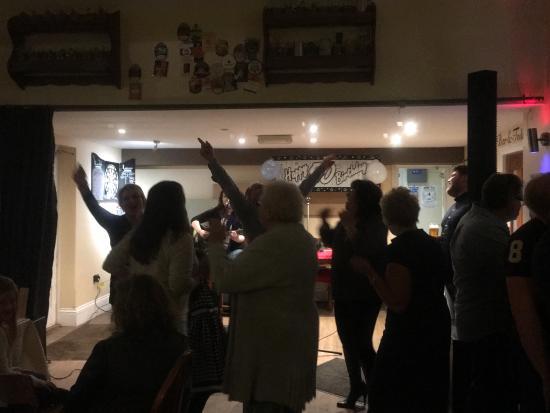 Bromsgrove, UK: Enjoying live music