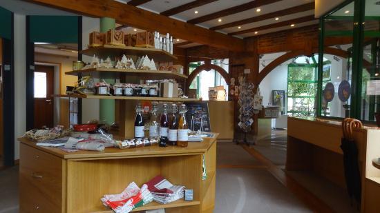 La Petite Pierre, Γαλλία: Boutique de l'office de tourisme