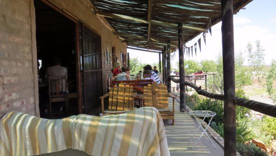 Willowmore, Sudáfrica: Oppi Vlak Front Veranah