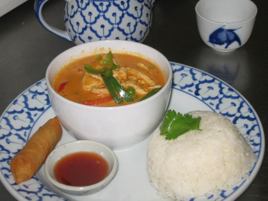 Thai Orchid: Panang Curry